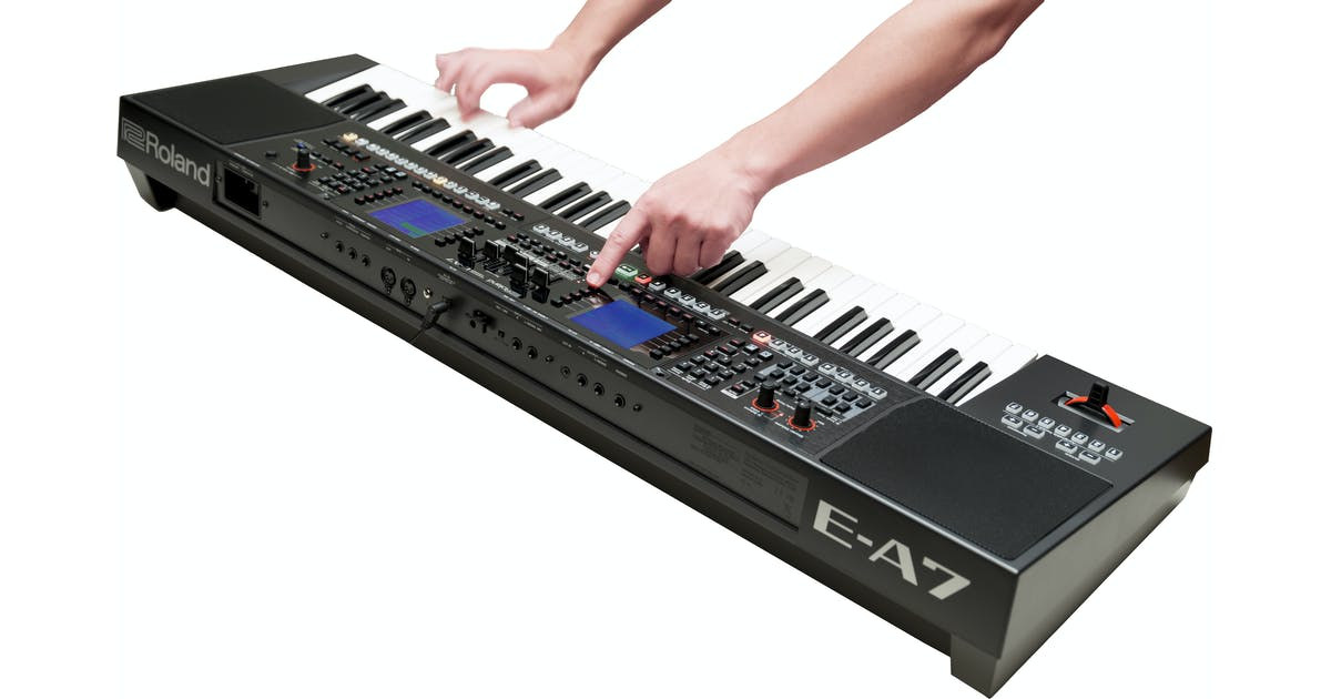 Roland E-A7 Expandable Arranger Keyboard - Andertons Music Co