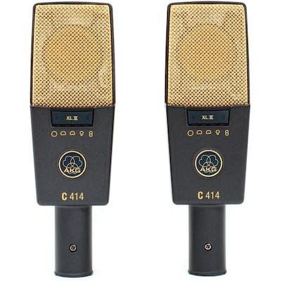 AKG C414 XLII Stereo Pair