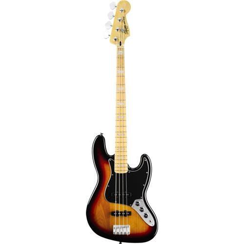 squier vintage modified jazz bass 77 in 3 colour sunburst