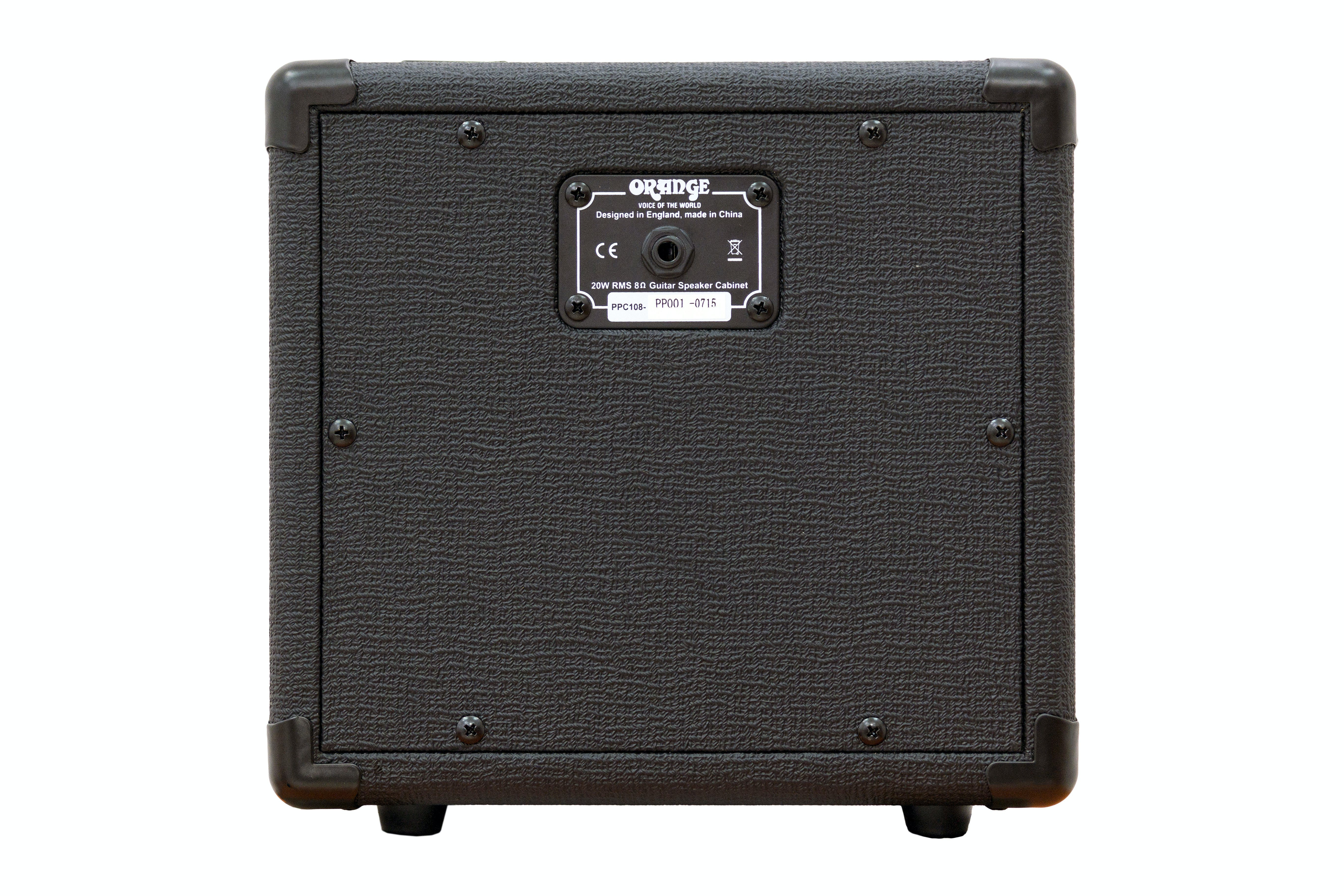 Orange PPC108 Micro Guitar Cabinet in Black - Andertons Music Co.