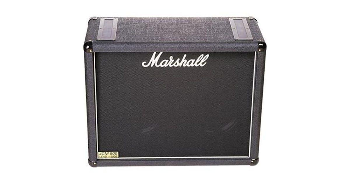 marshall 1936 150w 2x12 speaker cabinet andertons music co. Black Bedroom Furniture Sets. Home Design Ideas