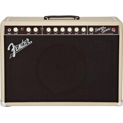 Fender Super-Sonic 22 Guitar Amp Combo in Blonde