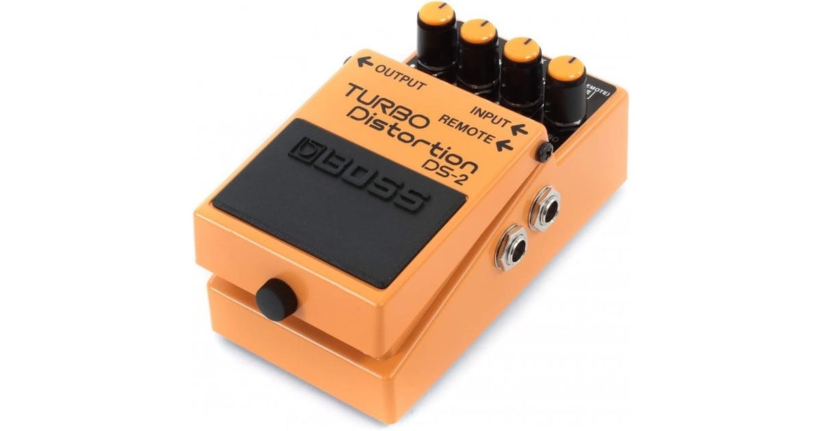 Boss DS-2 Turbo Distortion Compact Pedal - Andertons Music Co