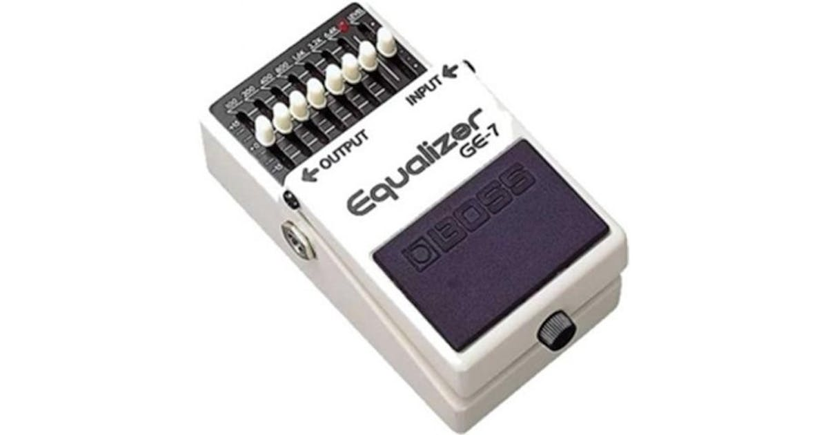 Boss GE-7 Graphic Equalizer Compact Pedal - Andertons Music Co