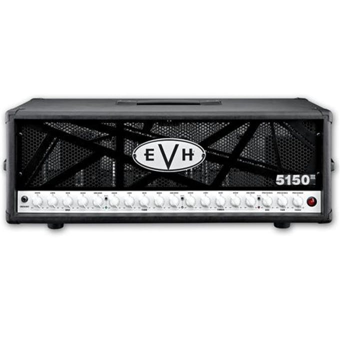 6782f4266af EVH 5150 III HD 100w Tube Amplifier Head Black - Andertons Music Co.