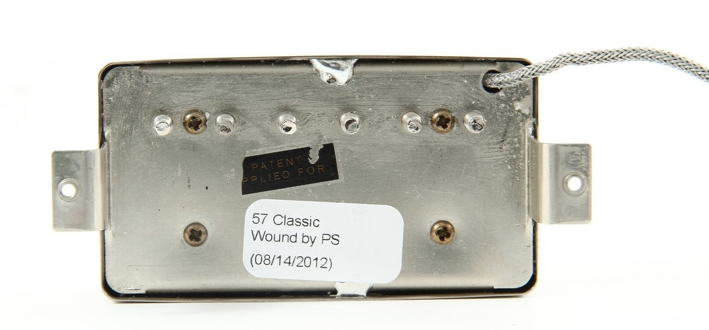 gibson 57 classic humbucker in zebra andertons music co
