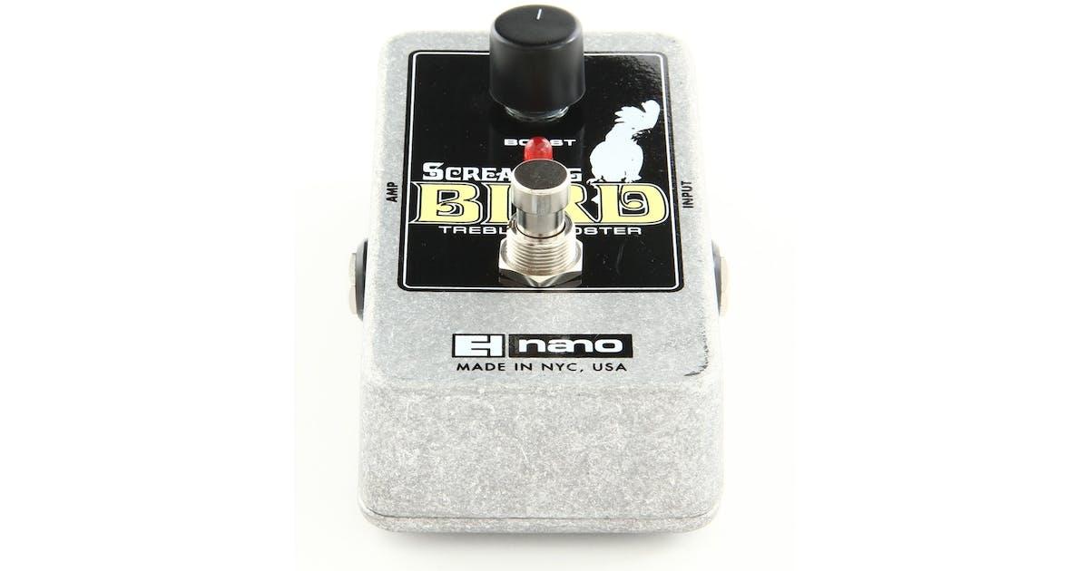 electro harmonix screaming bird treble booster nano. Black Bedroom Furniture Sets. Home Design Ideas