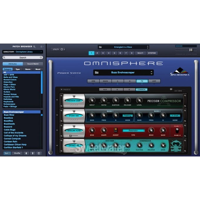 Spectrasonic Omnisphere Psychoacoustic Virtual Synth