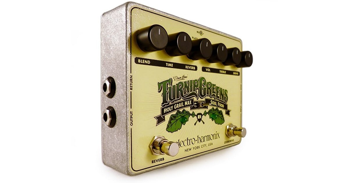 electro harmonix green turnips pedal andertons music co. Black Bedroom Furniture Sets. Home Design Ideas