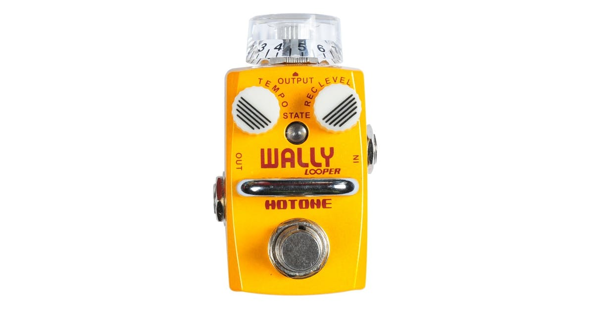 Hotone Wally Looper Pedal - Andertons Music Co