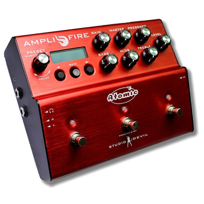Atomic Amplifire Amp Sim & Multi-effects Pedal - Andertons