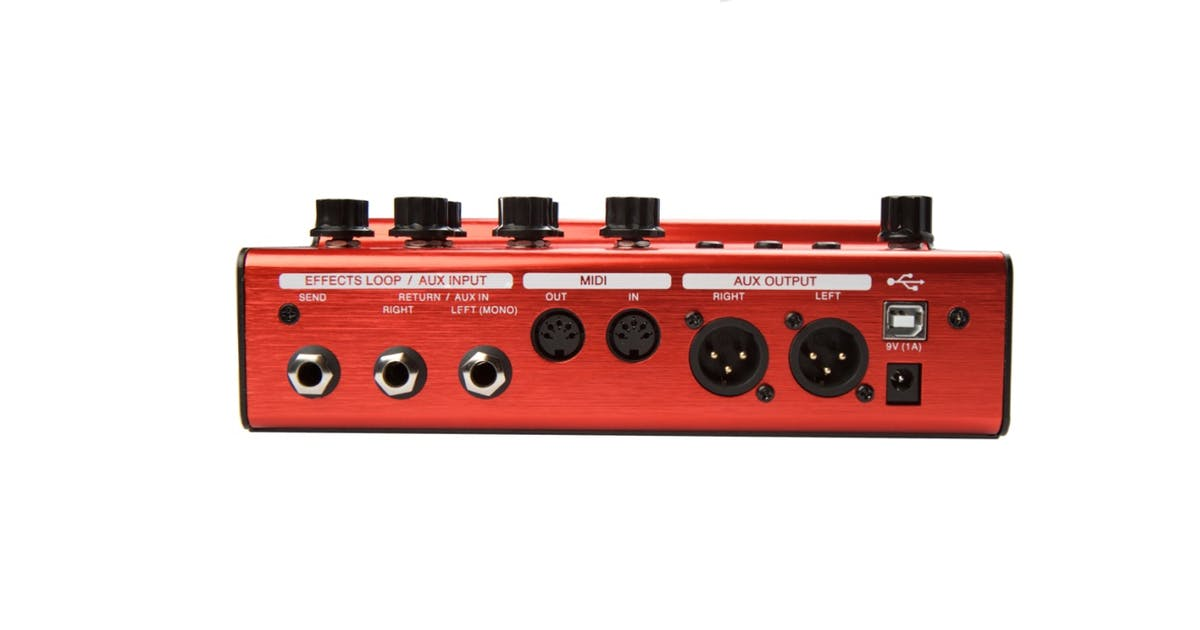 atomic amplifire amp sim multi effects pedal andertons music co. Black Bedroom Furniture Sets. Home Design Ideas