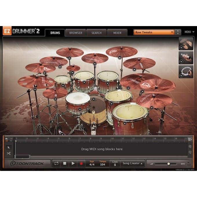 Toontrack EZ Drummer Expansion EZX - Progressive ESD Download - Andertons  Music Co