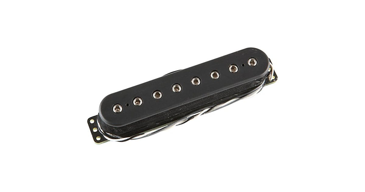 Dimarzio DP810 Ionizer 8 String Middle Pickup in Black - Andertons Music Co