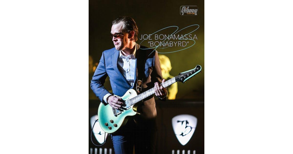 Gibson Joe Bonamassa Bonabyrd - Signed - Andertons Music Co.