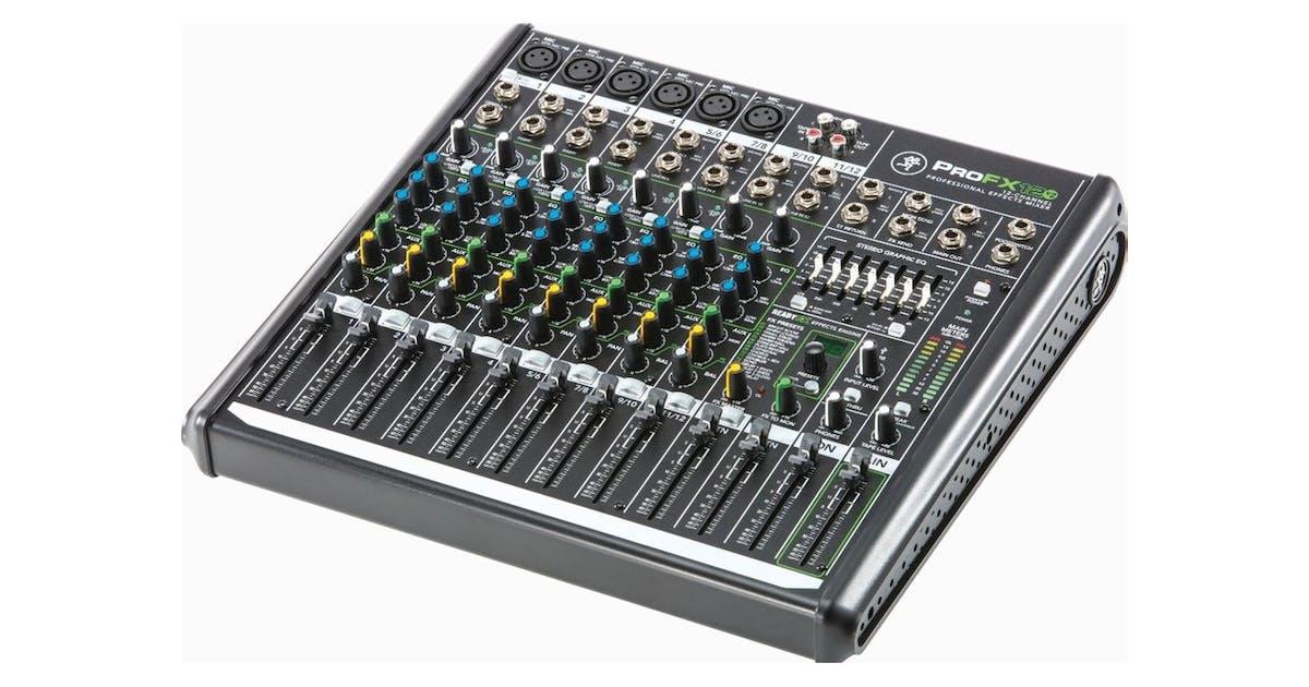 mackie profx12 v2 mixer w digital fx andertons music co. Black Bedroom Furniture Sets. Home Design Ideas