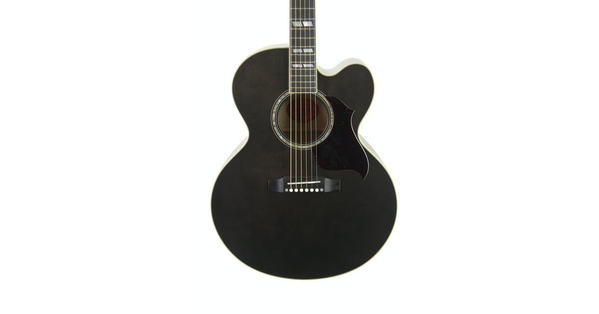 gibson j 185 ec high performance electro acoustic guitar andertons music co. Black Bedroom Furniture Sets. Home Design Ideas