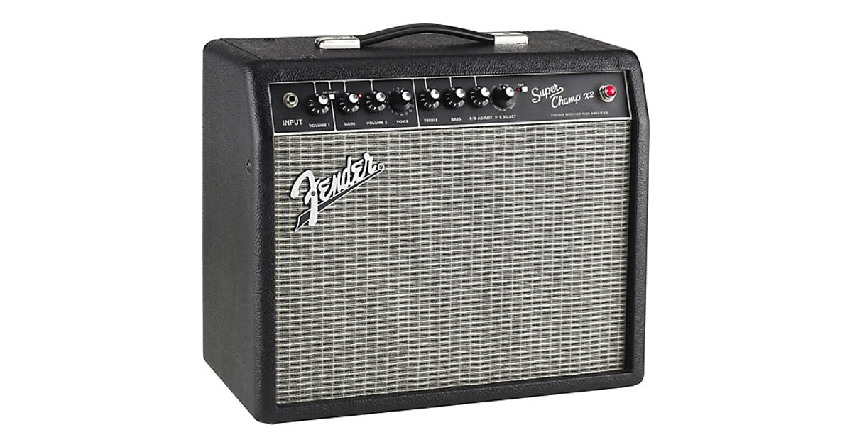 Fender Super Champ X2 15w Guitar Amp Combo - Andertons Music Co