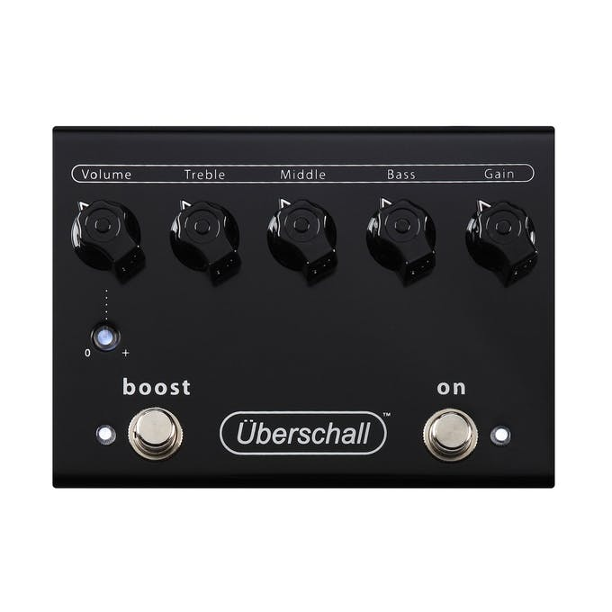 19915f1cb Bogner Uberschall Overdrive Pedal - Andertons Music Co.