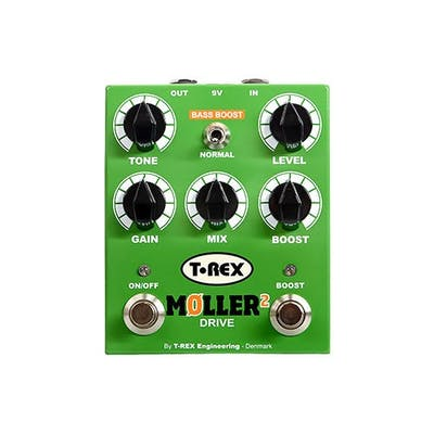 T-Rex Moller 2 Pedal Classic Overdrive With Clean Boost