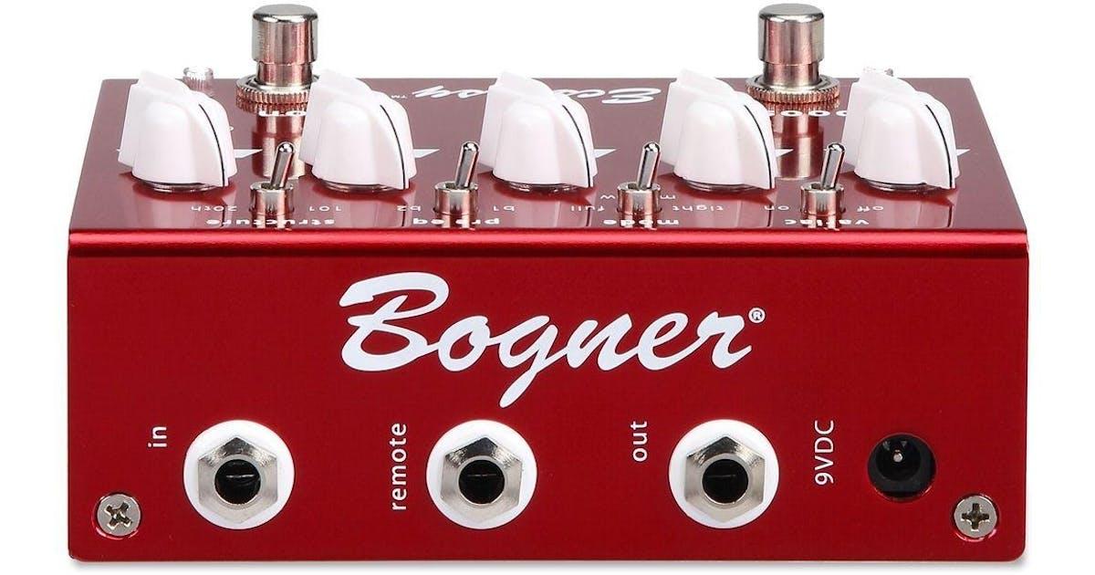 quality design cozy fresh sleek Bogner Ecstasy Red Overdrive Pedal - Andertons Music Co.