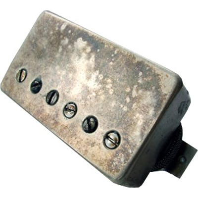 Bare Knuckle 6 String Nailbomb Covered Bridge, Aged Nickel