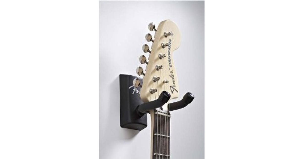 Fender Guitar Wall Hanger Black Andertons Music Co