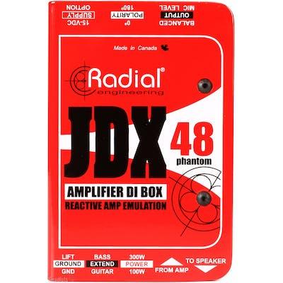 Radial JDX Reactor Guitar Amplifier DI / Switcher Amp DI Box