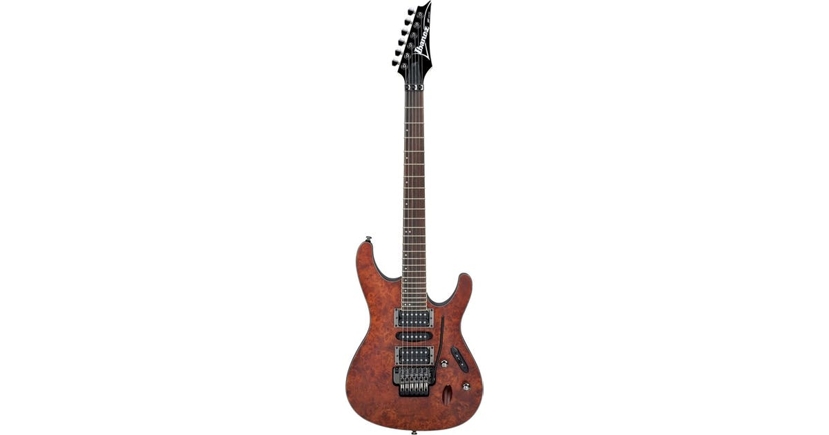ibanez s770pb cnf ibanez s series hsh in charcoal brown andertons music co. Black Bedroom Furniture Sets. Home Design Ideas
