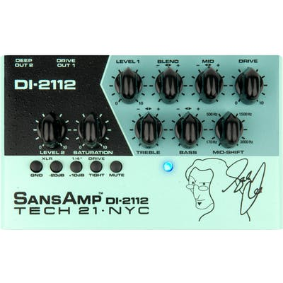 Tech 21 DI-2112 Geddy Lee Signature SansAmp