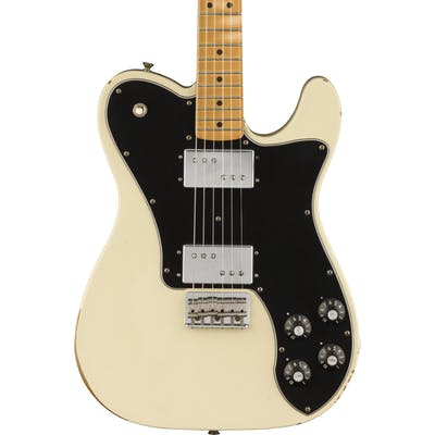 Fender Road Worn '70s Telecaster Deluxe in Olympic White